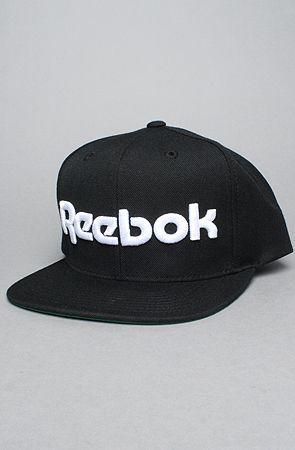 The Reebok Classics Snapback in Black bec5e4d07ee