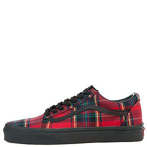 6e143177155 The Men s Old Skool Plaid Mix in Red and Black ...