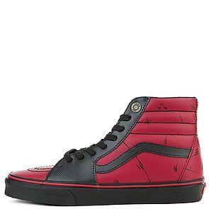 The Vans x Marvel Deadpool Sk8-Hi in Multi and Black ... 03c41007f