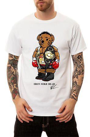 971a33553da The Iron Mike Bear T-Shirt in White