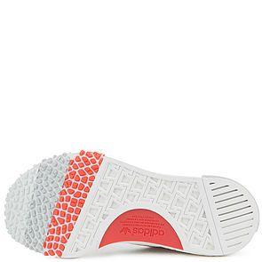 28e9163cb2d77 Adidas Sneaker Women s NMD Racer Primeknit White Trace Scarlet