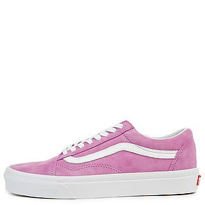 7c3b995518 The Women s Old Skool Pig Suede in Violet and True White ...