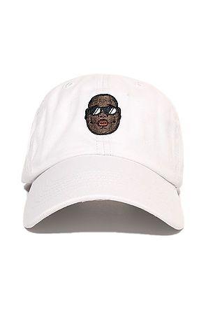 Biggie Dad Hat In White 8838fd69d43