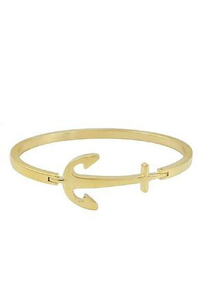 f35547959252b The Mister Axle Anchor Bracelet - Gold
