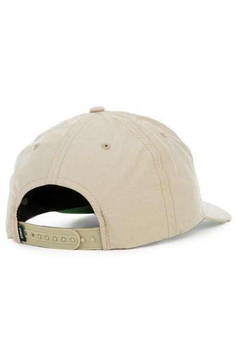 5179614925f The Label Dad Hat in Khaki