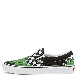 f1f2ef0fb35cf1 The Vans x Marvel Hulk Checkerboard Classic Slip-On in Multi ...