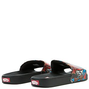 4727020216 ... The Vans x Marvel Spider Man Slide-On in Multi and Black ...