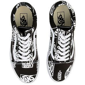 68f1d793 The Men's Old Skool Logo Mix in Black and True White