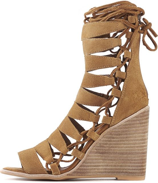 Jeffrey Campbell For Camel Suede Hi WomenZaferia Wedges fy67Ygbv