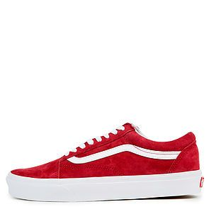 e640db1c4cd The Women s Old Skool Pig Suede in Scooter and True White ...