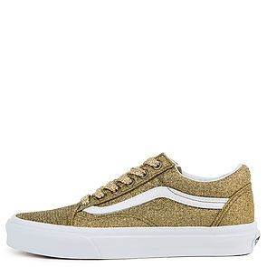 The Women s Old Skool Lurex Glitter in Gold and True White ... c19bc80ae