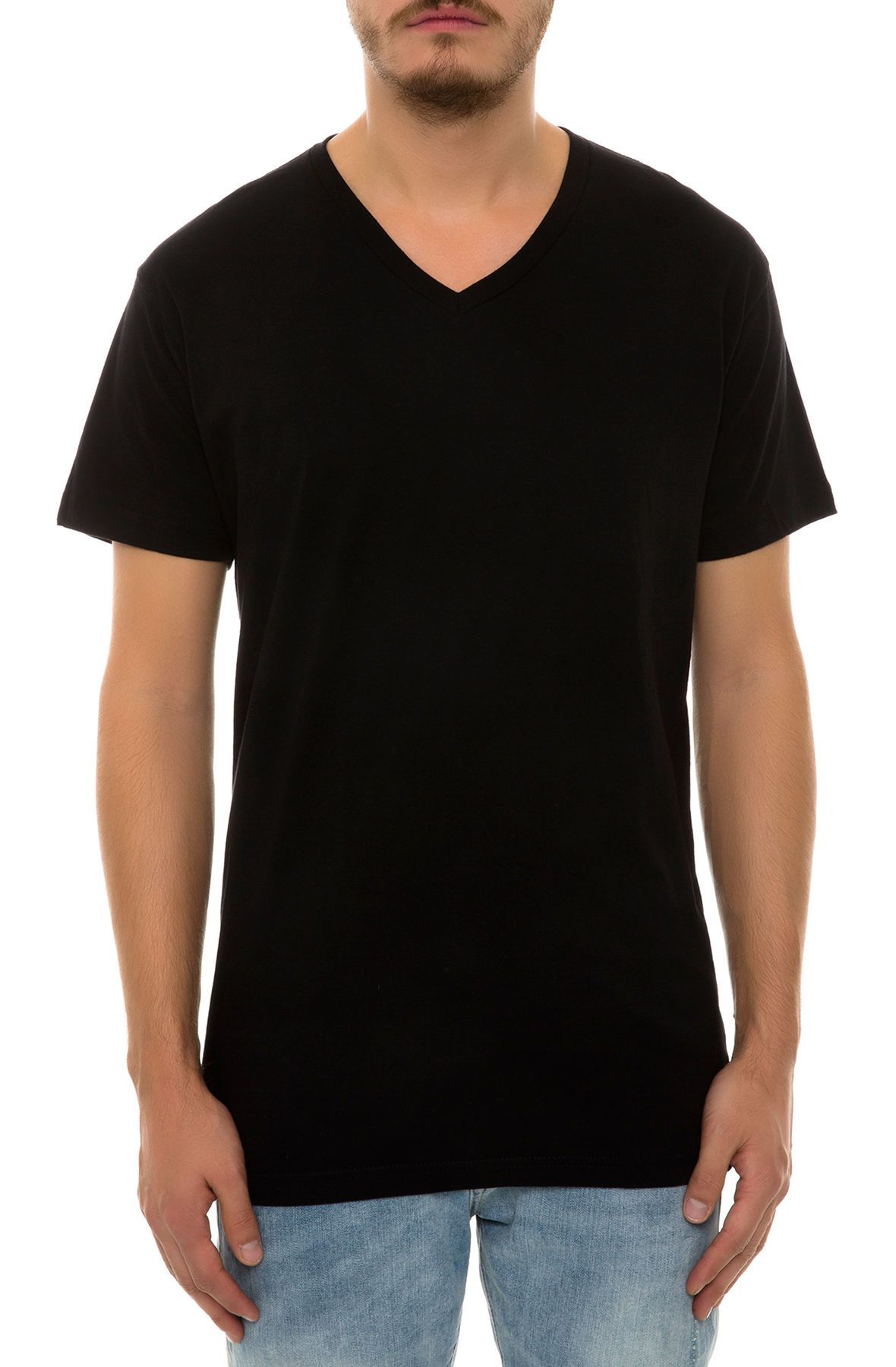 the basic vneck tee 3pack in 3 colors