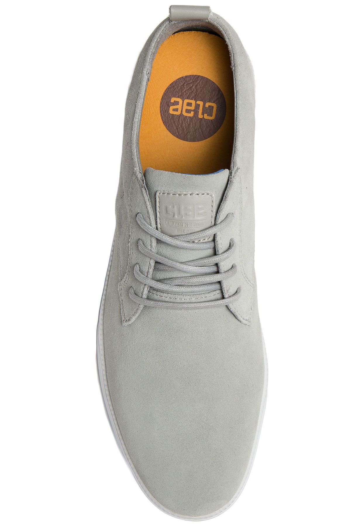 The ellington gravel suede shoes in gray for The ellington