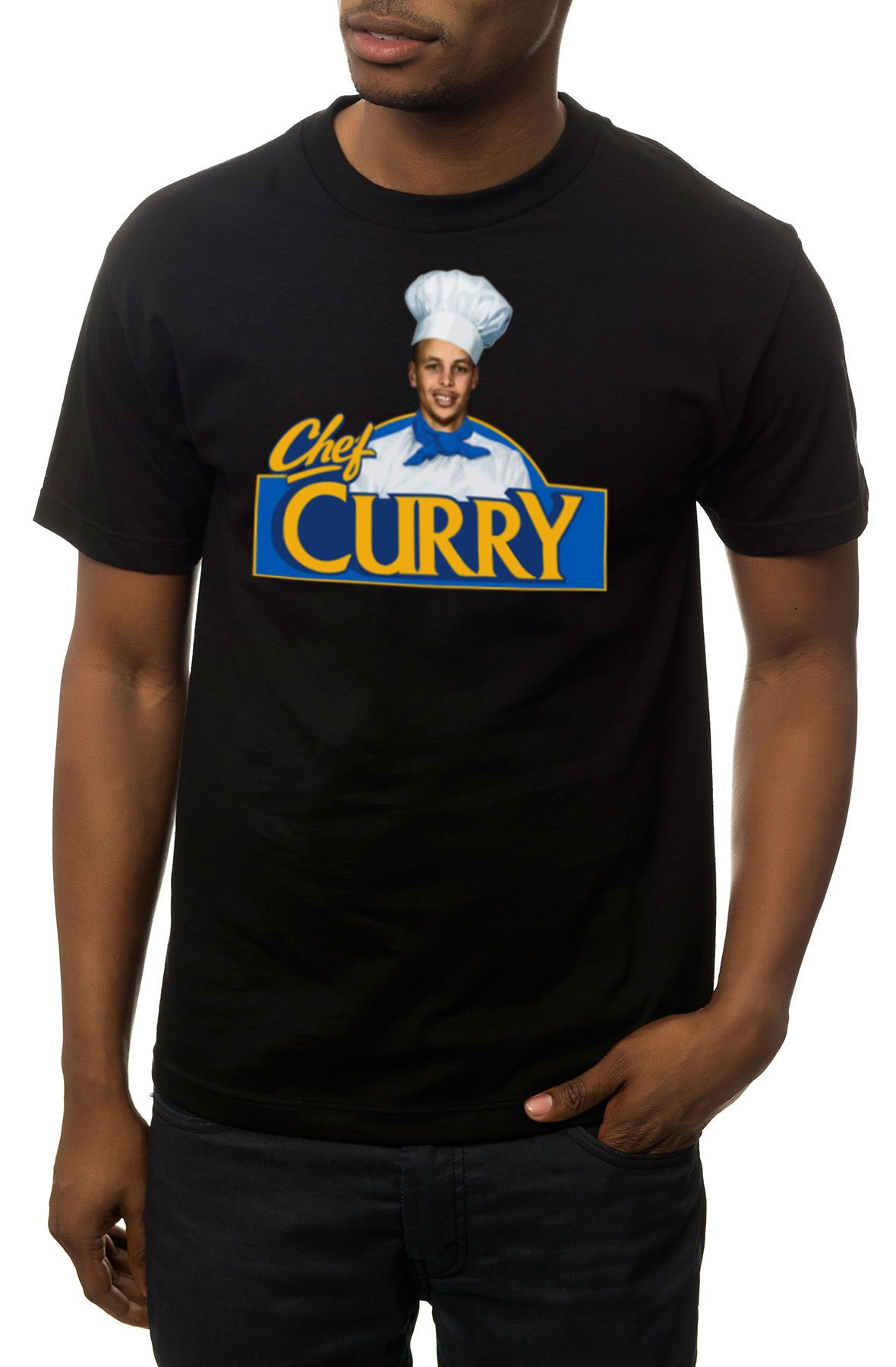 KLP Tee Chef Curry Black