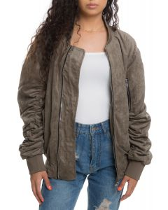 2ab1aa955 The Womens Bird Bomber in Olive