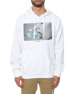 The Mouthful Hoodie in White