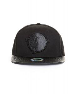 The Boogie Logo Snakeskin Snapback - Black
