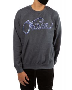 The Chromium Crewneck Sweatshirt in Dark Heather Grey