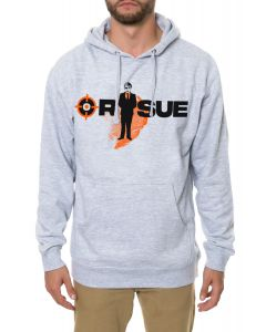 The Mystery Man Hoodie in Heather Grey