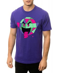 The Origami Tee in Purple