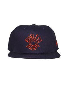 57f8b646d85 FAZE Apparel The All Smiles Snapback Hat in Navy