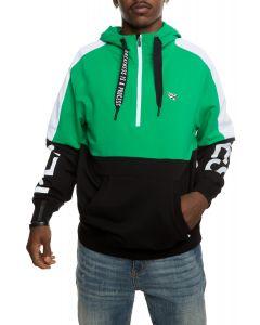 f4259d5192b08 PAPER PLANES American Dream Crown in Black.  55.00. Collide Half Zip Hoodie  in Green