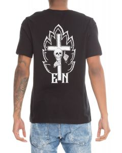 161a6e078b The EN x Karmaloop Skull In Flames Tee in Black
