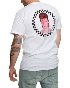 8571dff12f The Vans X David Bowie Aladdin Sane Tee in White