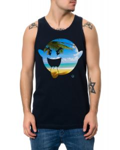 The Good Life Boogie Tank Top in Navy