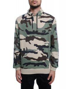 689baa47552 The Nowhere Striped Pullover Hoodie in New Woodland Camo