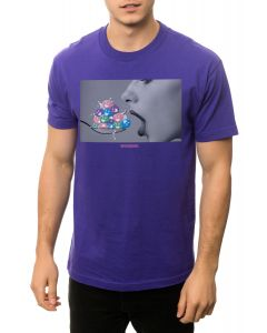 The Mouthful Tee in Purple