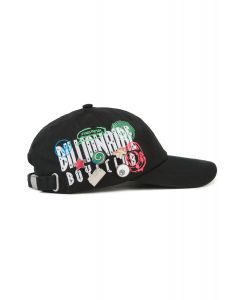 6c98c0b73915e Straight Logo Hat in Black