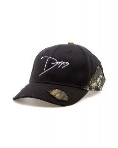 161b4e9b12b The Distressed Logo Dad Hat in Black