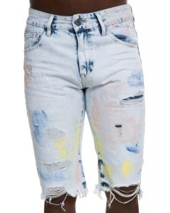 separation shoes 1c501 1ff88 Span Paint Splatter Shorts