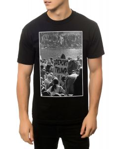 KLP The Deport Him Tee in Black