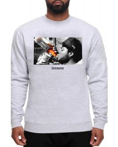The 40's and Sh*t Crewneck - Heather Gray