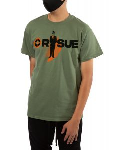 The Mystery Man Tee in Military Green