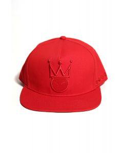 f743e81f344 Dirty Razkal KingMe Snapback - Red