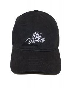 9c2fc5e3b8af5d Stay Winning Black/White Dad Hat