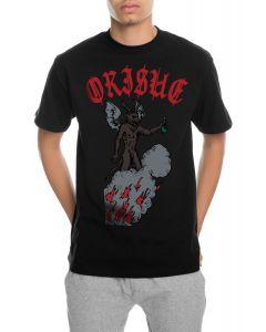 The Drinkin Devil Tee in Black