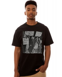 Street Vault The Welcome Back Martin Tee in Black