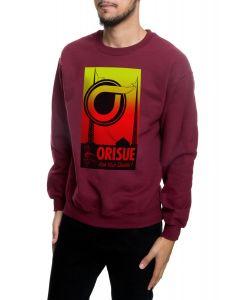 The Ask Your Dealer Crewneck Sweatshirt in Maroon