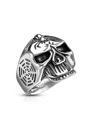 The Spider Web Skull Ring