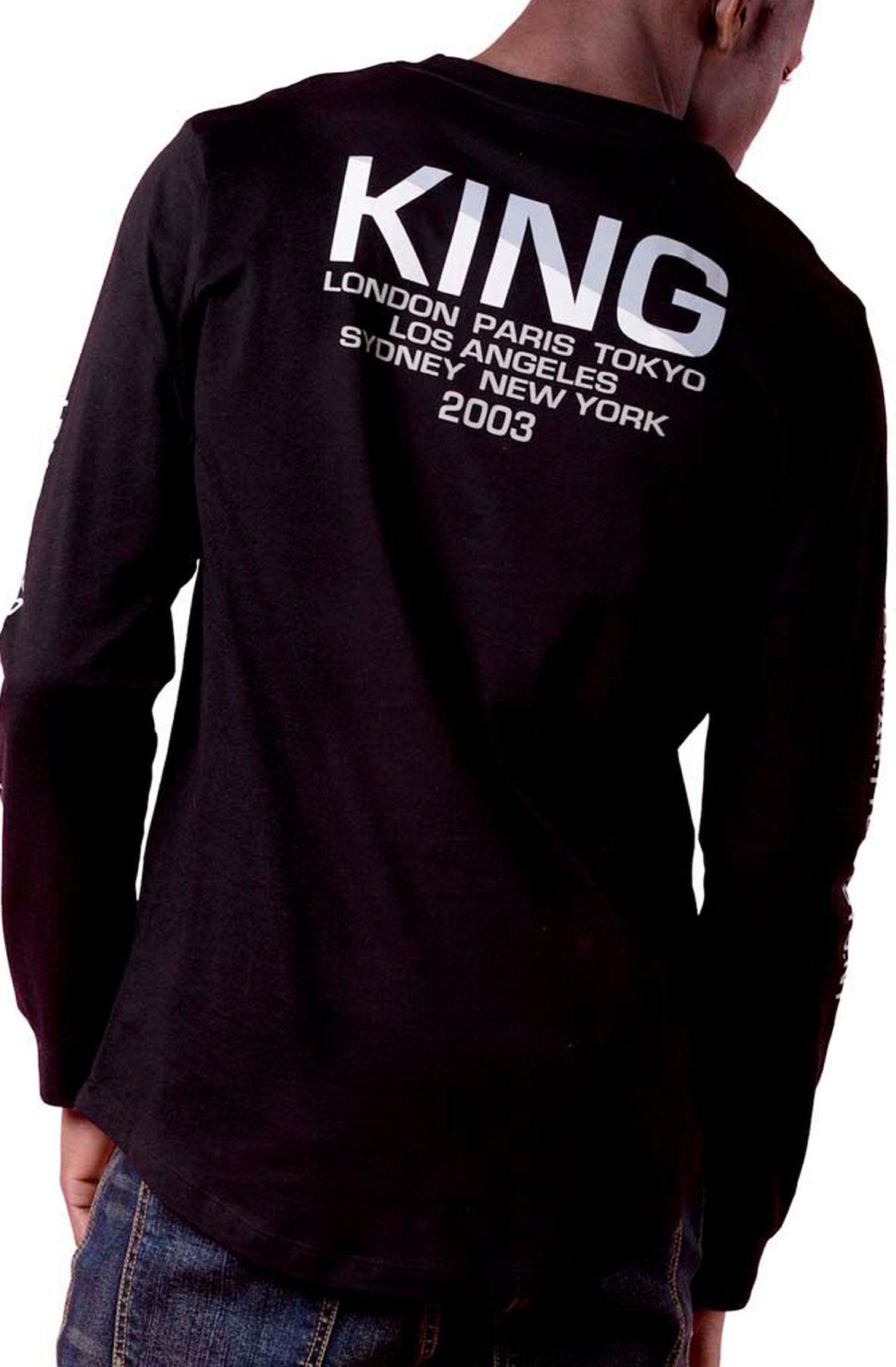 Image of Homerton Longsleeve T-Shirt Black