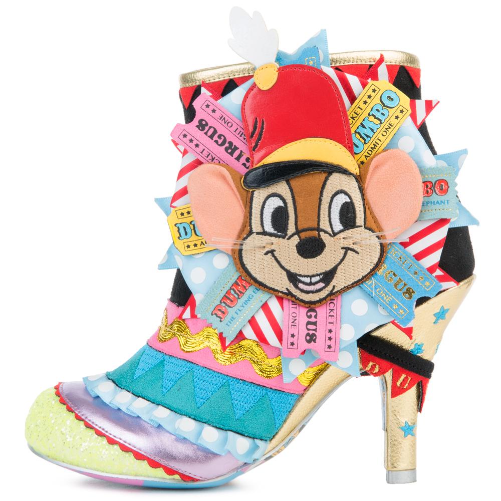 Disney's Dumbo x Irregular Choice I Give You Dumbo Ankle Boots