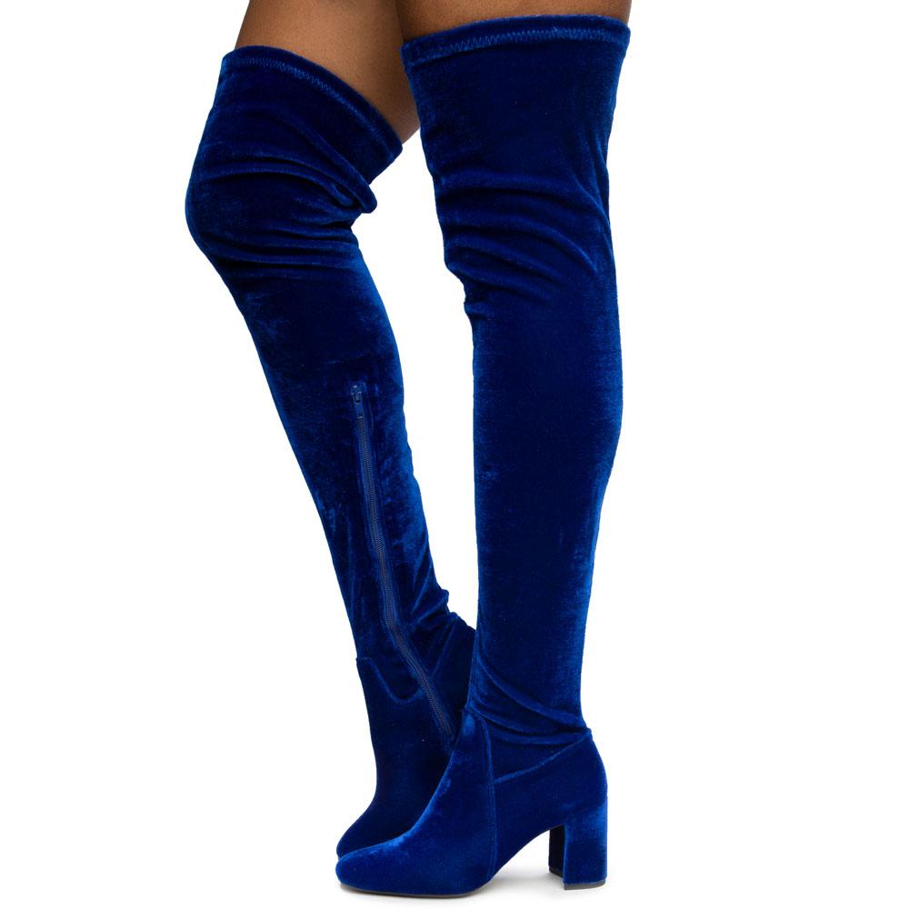 Cienega Velvet Boots
