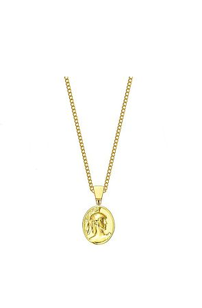 the mister gladiator necklace - gold