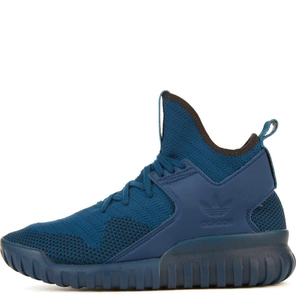Image of Tubular X Primeknit Blue Sneakers