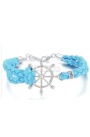 the nautical bracelet - blue