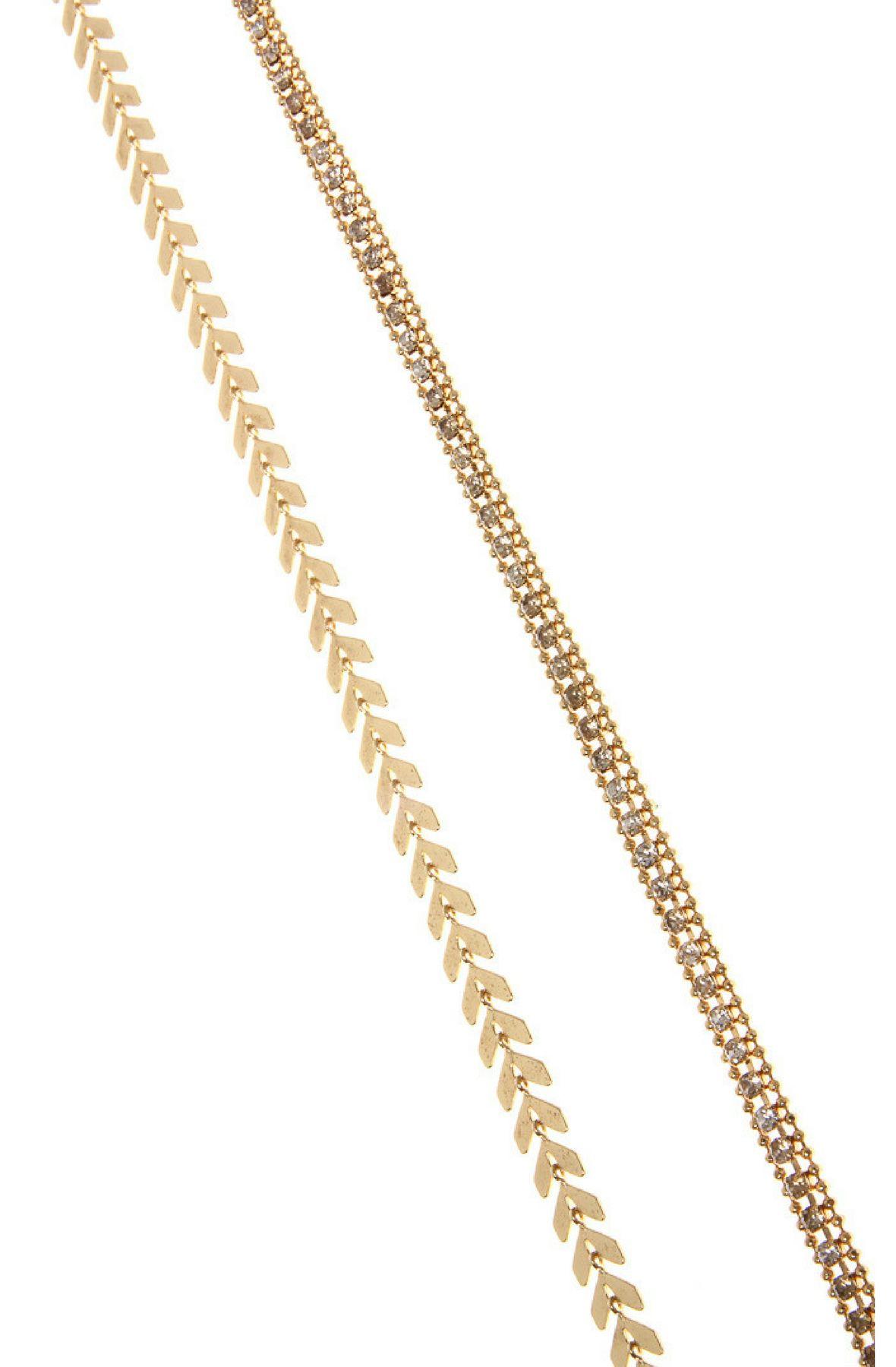 Image of Double Choker Necklace & Stud Earring Set